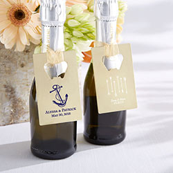Personalized Gold Credit Card Bottle Opener – Wedding/Bridal