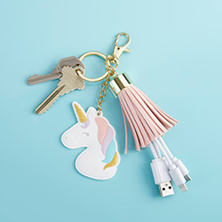 Unicorn USB Keychain