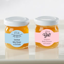 Personalized Honey Jar - Baby Shower (Set of 12)