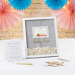 Baby Shower Guest Book Alternative - Frame