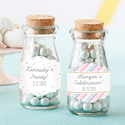 Personalized Milk Jar - So Sweet (Set of 12)