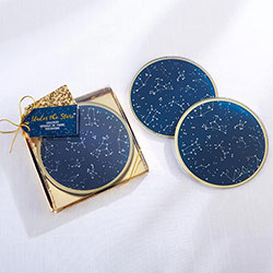 Under the Stars Glass Coaster